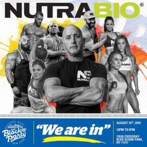 NutraBio Natural Body Inc Block Party