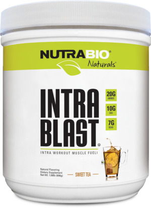NutraBio Natural Series Intra Blast