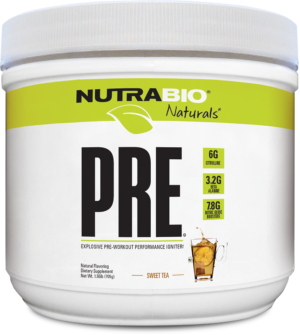 NutraBio Natural Pre Workout