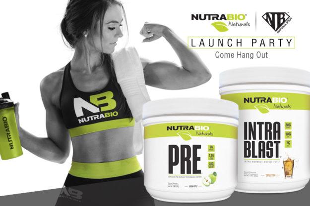 NutraBio Naturals Launch