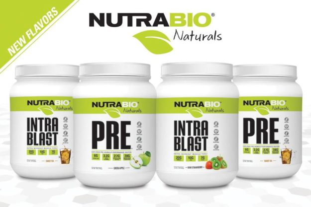 NutraBio Naturals PRE and Intra Blast