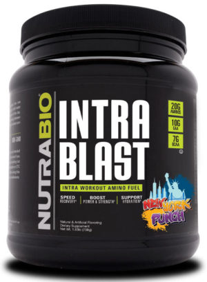 NutraBio Intra Blast NY Punch