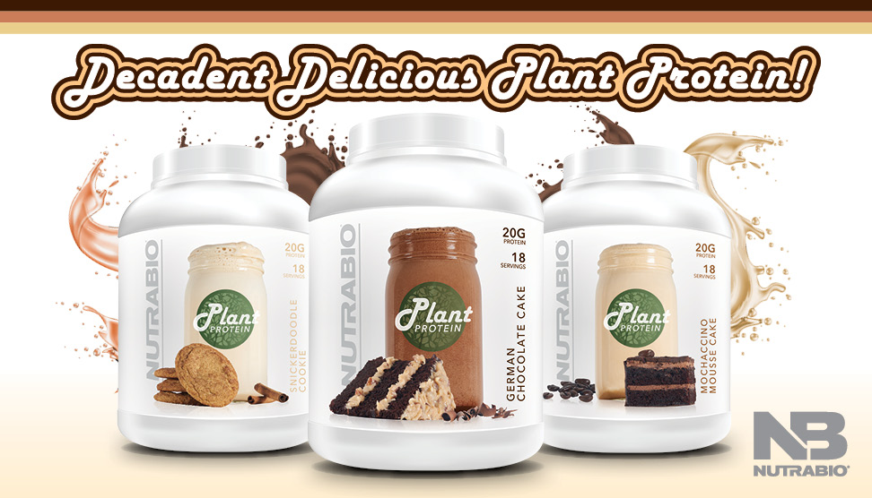 NutraBio Plant Protein is Here (and One Flavor is Astonishing!)