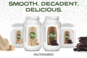 NutraBio Plant Protein Vanilla Chocolate