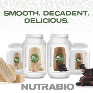 NutraBio Plant Protein Chocolate Drizzle and Vanilla Wafer