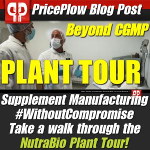 NutraBio Plant Tour