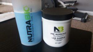 NutraBio PRE Blue Razz Beta Test Review