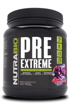 NutraBio PRE Extreme Grape Berry Crush