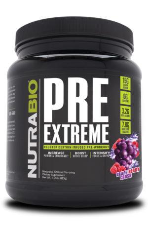 NutraBio PRE Extreme Grape Berry Crush