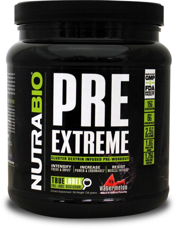 NutraBio PRE Extreme
