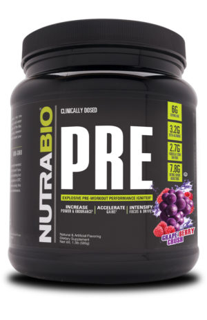 NutraBio PRE Grape Berry Crush