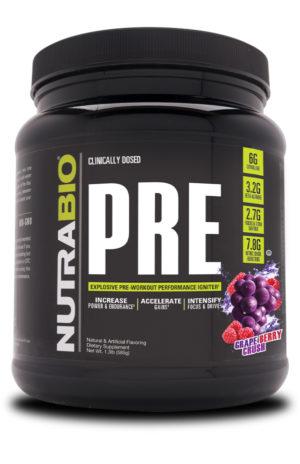 NutraBio PRE Grape Berry Crush
