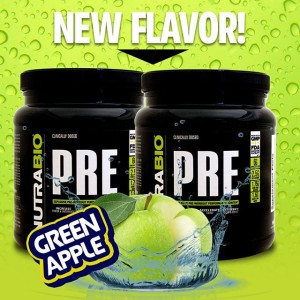 NutraBio Pre Green Apple