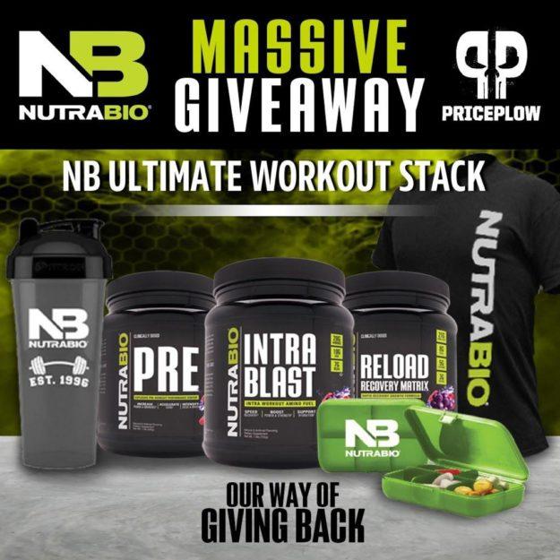 NutraBio PricePlow 5k Giveaway