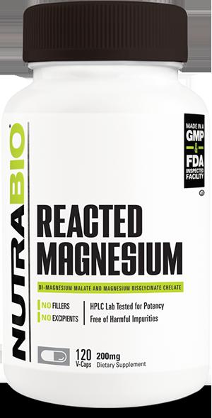 NutraBio Reacted Magnesium