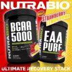 NutraBio Strawberry Lemon Bomb BCAA 5000
