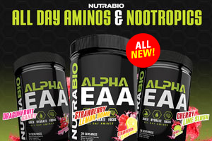 NutraBio's Alpha EAA: Nootropic Intra Workout!