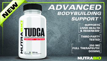 NutraBio TUDCA: Advanced Bodybuilding Support