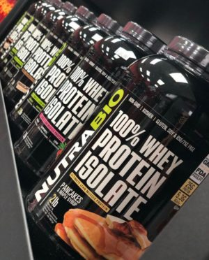 NutraBio Whey Protein Isolate Line-up
