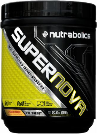 Supernova is a brand new pre workout from Nutrabolics that offers an interesting blend of stims including high doses of dendrobium and theobromine.