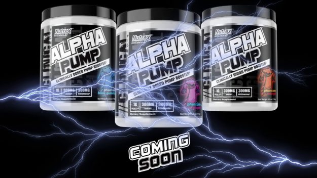 Nutrex Alpha Pump Coming Soon