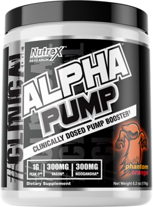 Nutrex Alpha Pump Phantom Orange