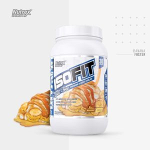 Nutrex IsoFit Bananas Foster