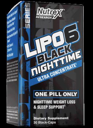 Nutrex Lipo-6 Black Nighttime UC