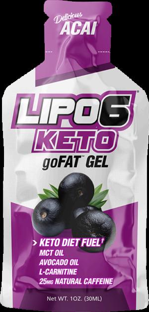 Nutrex Lipo-6 Keto goFAT Gel