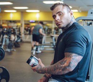 Nutrex Male Athlete Warrior Pre