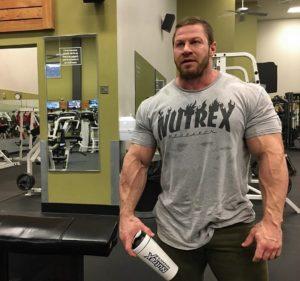 Nutrex Male Athlete Gym