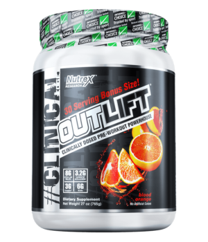 Outlift Blood Orange Starts a Huge Year for Nutrex Research!!