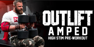 Nutrex Outlift Amped Male Athlete