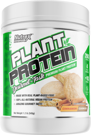 Nutrex Plant Protein Released: Vegan & Natural, yet Stevia-Free!