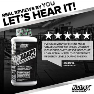 Nutrex Vitadapt Review