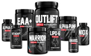 Nutrex Warrior Product Family
