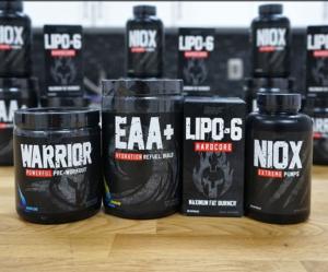 Nutrex Warrior Series Stack