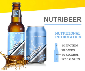 Nutribeer is the brew of choice for those who still want to have a beer but not destroy their macros.