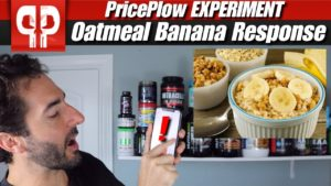 Oatmeal Bananas Blood Sugar Experiment