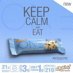 OhYeah! ONE Bar Chocolate Chip Cookie Dough Keep Calm
