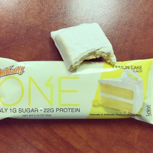 OhYeah! One Bar Lemon Cake Inside