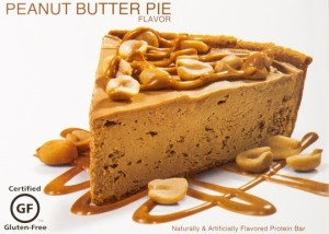 Oh Yeah ONE Bar Peanut Butter Pie Slice
