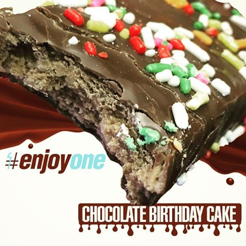 Chocolate Birthday Cake Lives Up To Its Billing With A Light Layer Of Frosting Enveloping Moist Tender Inside Unfortunately Those Sprinkles Get