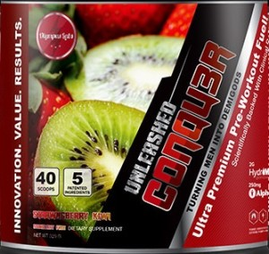 Olympus Labs has finally unveiled the label of their all new stimulant free version of Conqu3r Unleashed that used 5 patented ingredients all clinically dosed.