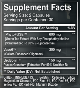Olympus Labs Ep1logue Ingredients