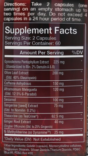 Olympus Labs Ignit3 New Formula Ingredients
