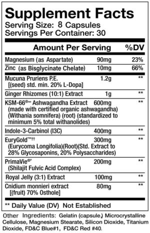 Olympus Labs K1ngs Blood Ingredients