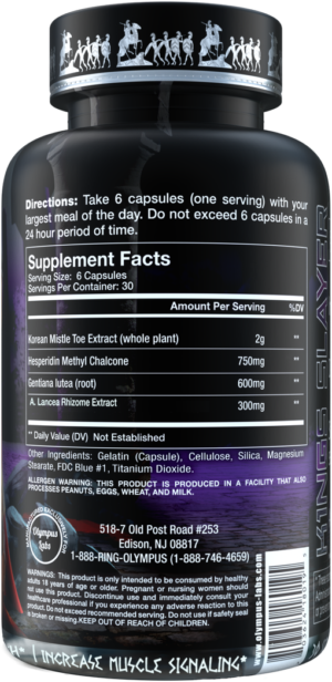 Olympus Labs K1ngs Slayer Ingredients