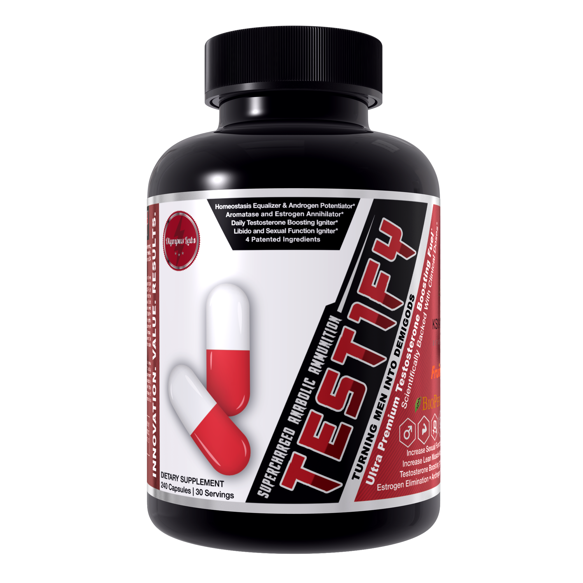 Testify - 10 testosterone booster