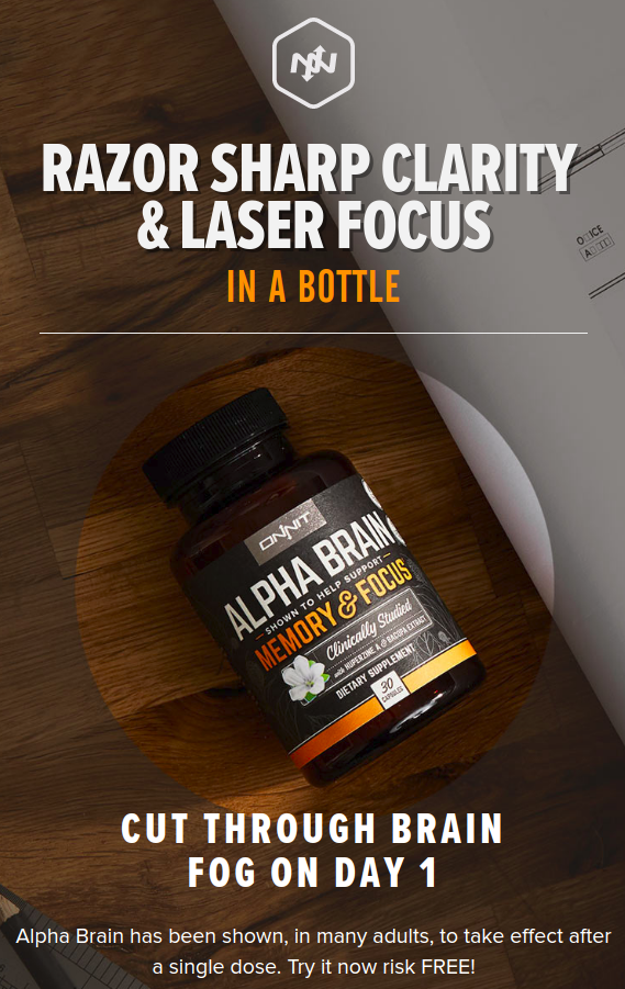 ONNIT Alpha Brain Free Trial